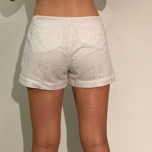 Banana Republic Shorts - White light cotton shorts